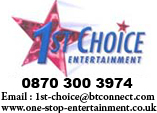 1st Choice Entertainment 0870 300 3974 Steelasophical Steel Band