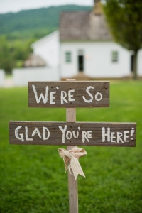 wedding day signs