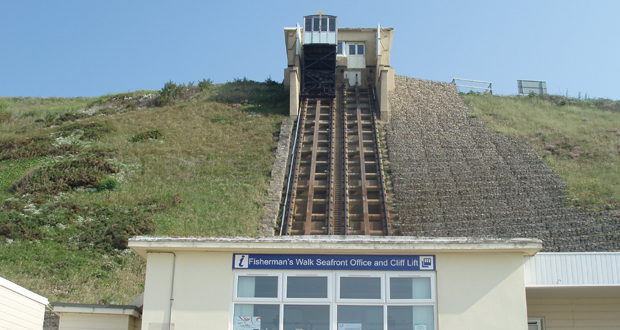 Bournemouth cliff cable car