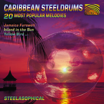 EUCD1486 Caribbean Steeldrums - 20 Famous Tropical Melodies