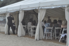 11 April 2014 Helen Brad Beach Wedding Bournemouth n