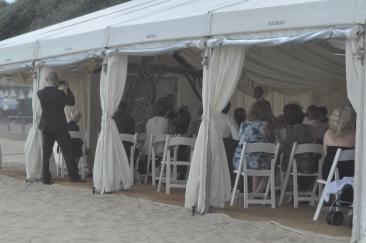 11 April 2014 Helen Brad Beach Wedding Bournemouth n