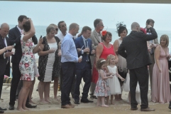 11 April 2014 Helen Brad Beach Wedding Bournemouth