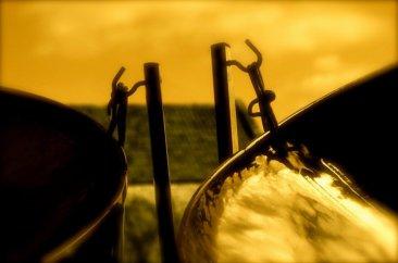 Steelasophical double seconds steel drum 9