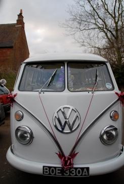 VW Camper Wedding Ride 0000000000eq