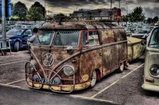 VW Camper Wedding Ride 0000000000e