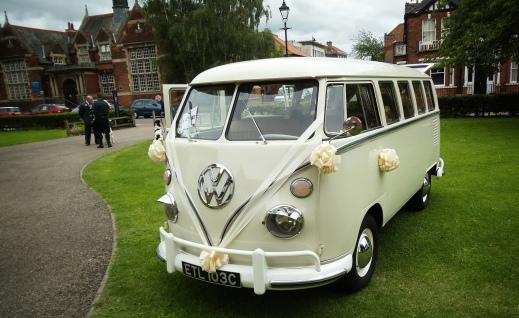 VW Camper Wedding Ride 0000000000w