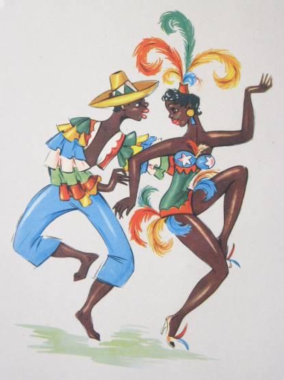 The Caribbean in watercolor c