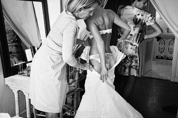 Getting Dressed for Wedding