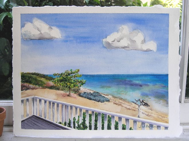The Caribbean in watercolor steelasophical
