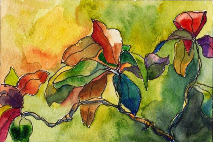 The Caribbean in watercolor aj