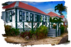 The Caribbean in watercolor f
