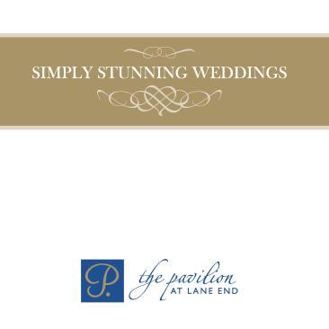 Pavilion Wedding Brochure