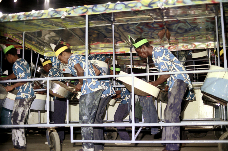 Instrument of rebellion, the steel pans of Trinidad and Tobago, have history in each note