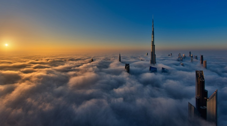 Head above the clouds 6