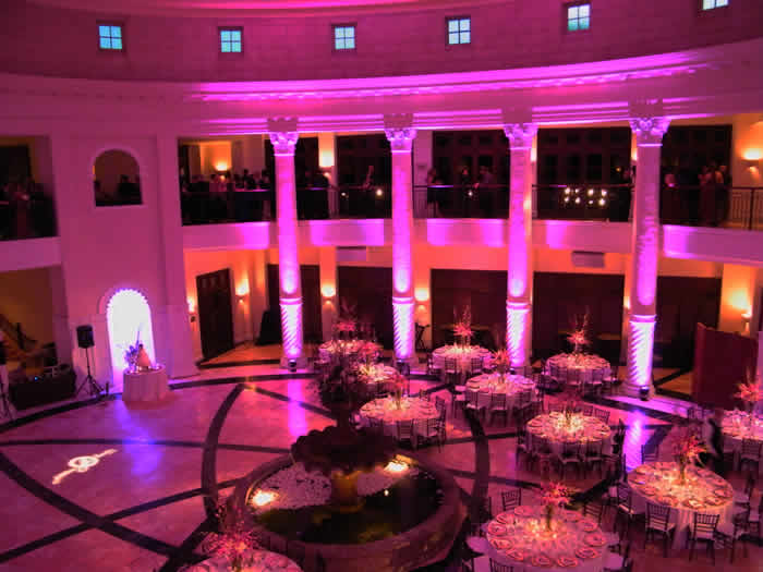 How to transform your Wedding venue with Lighting Steelasophical
