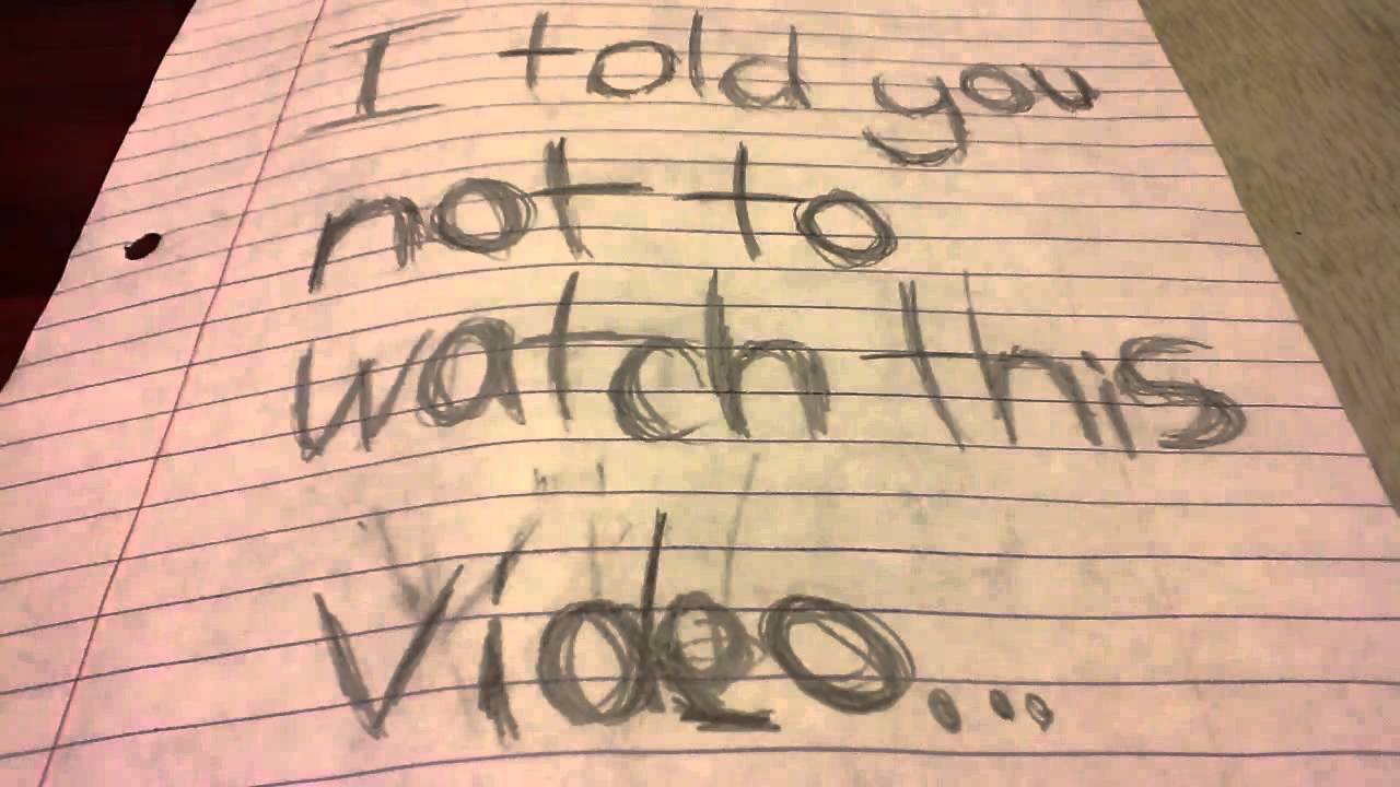 dont watch