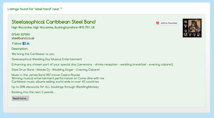 weddingmonkey.co.uk/?ls=steel+band&location=&radius=50