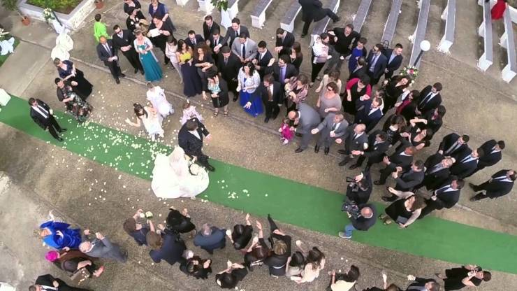 Drone Wedding Photos and GoPro Video