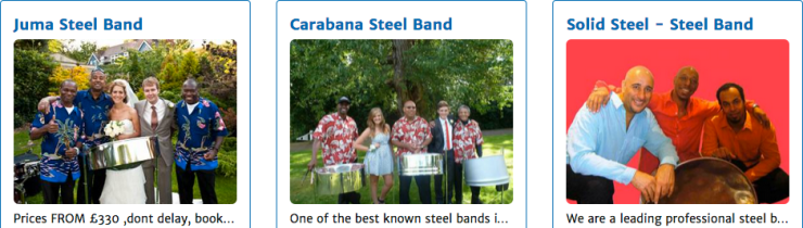 LastminuteMusicians Steel Bands Steelasophical