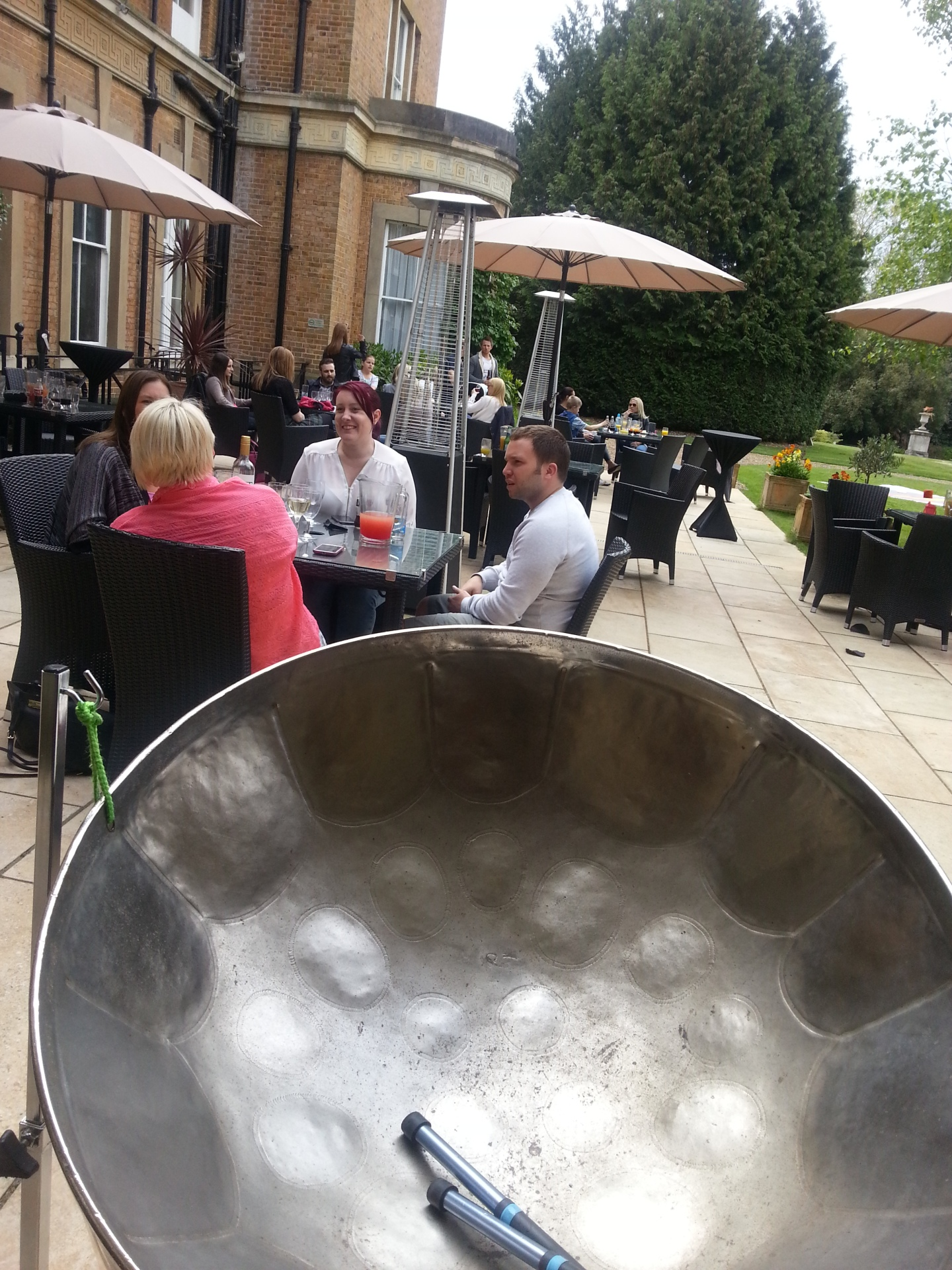 Steelasophical Steel Band at Oatlands Park Hotel