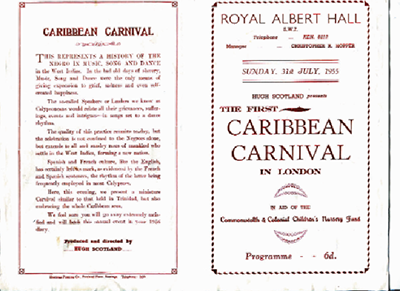The First Caribbean Carnival in London